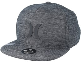 Dri-Fit Icon 4.0 Charcoal Snapback - Hurley