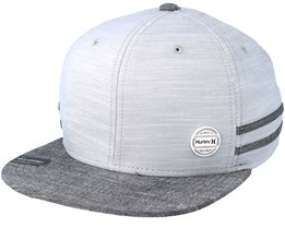 Work Pin Grey Snapback - Hurley