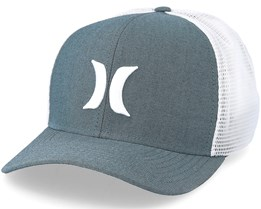 One & Textures Charcoal Flexfit - Hurley