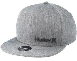 Phantom Corp Grey Snapback - Hurley