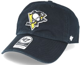 Pittsburgh Penguins Clean Up Black Adjustable - 47 Brand