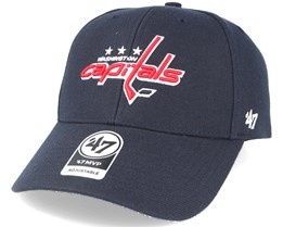 Washington Capitals Mvp Navy Adjustable - 47 Brand