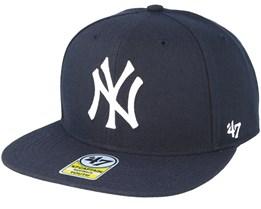 New York Yankees Youth No Shot 47 Captain Navy Snapback - 47 Brand