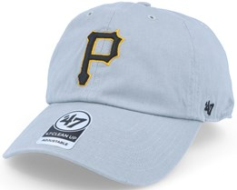 Pittsburgh Pirates Clean Up Grey Adjustavle - 47 Brand