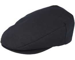 Hooligan Snap Black Flat Cap- Brixton