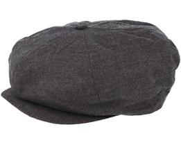 Ollie Chokolate Grey Flapcap - Brixton