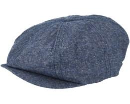 Brood Snap Denim Navy Flatcap - Brixton
