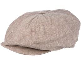 Brood Snap Beige Flatcap - Brixton