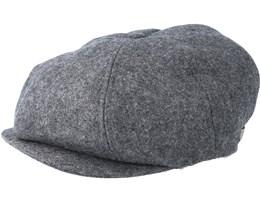 Brood Dark Grey Flat Cap - Brixton