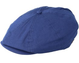 Brood Midnight Navy Flat Cap - Brixton