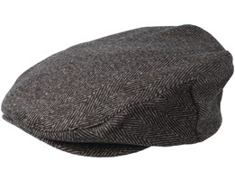 Barrel Brown/Black Flatcap - Brixton