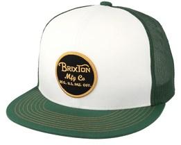 Wheeler Mesh Chive Trucker - Brixton