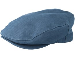 Barrel Washed Navy Snap Cap - Brixton