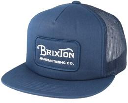 Grade Mesh Light Navy Trucker - Brixton
