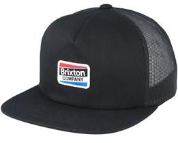 Worden Mesh Black Trucker - Brixton