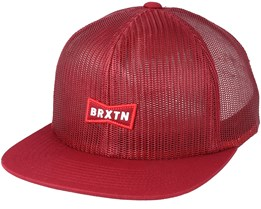 Missouri Burgundy Trucker - Brixton