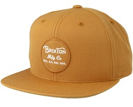 Wheeler Copper Snapback - Brixton