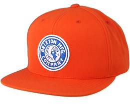 Rival Orange Snapback - Brixton