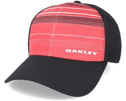 Silicone Bark Trucker Red Print Flexfit - Oakley