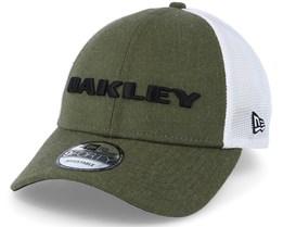 Heather New Era Hat Dark Brush Adjustable - Oakley