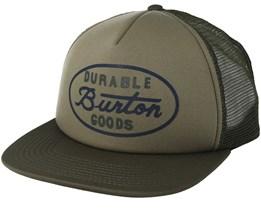 Dusty Olive Trucker Snapback - Burton