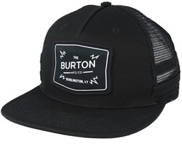Bayonette True Black Trucker Snapback - Burton
