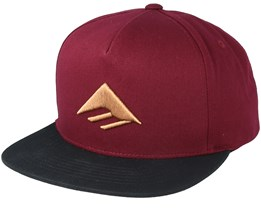 Triangle Oxblood Snapback - Emerica