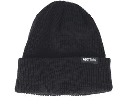 Warehouse Black Beanie - Etnies