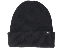 Triangle Cuff Black Beanie - Emerica