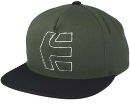 Sktech Icon Olive Green Snapback - Etnies