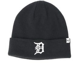 Detroit Tigers Raised Black Cuff - 47 Brand