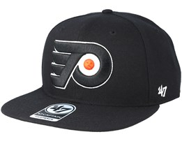 Philadelphia Flyers Sure Shot Black Snapback - 47 Brand