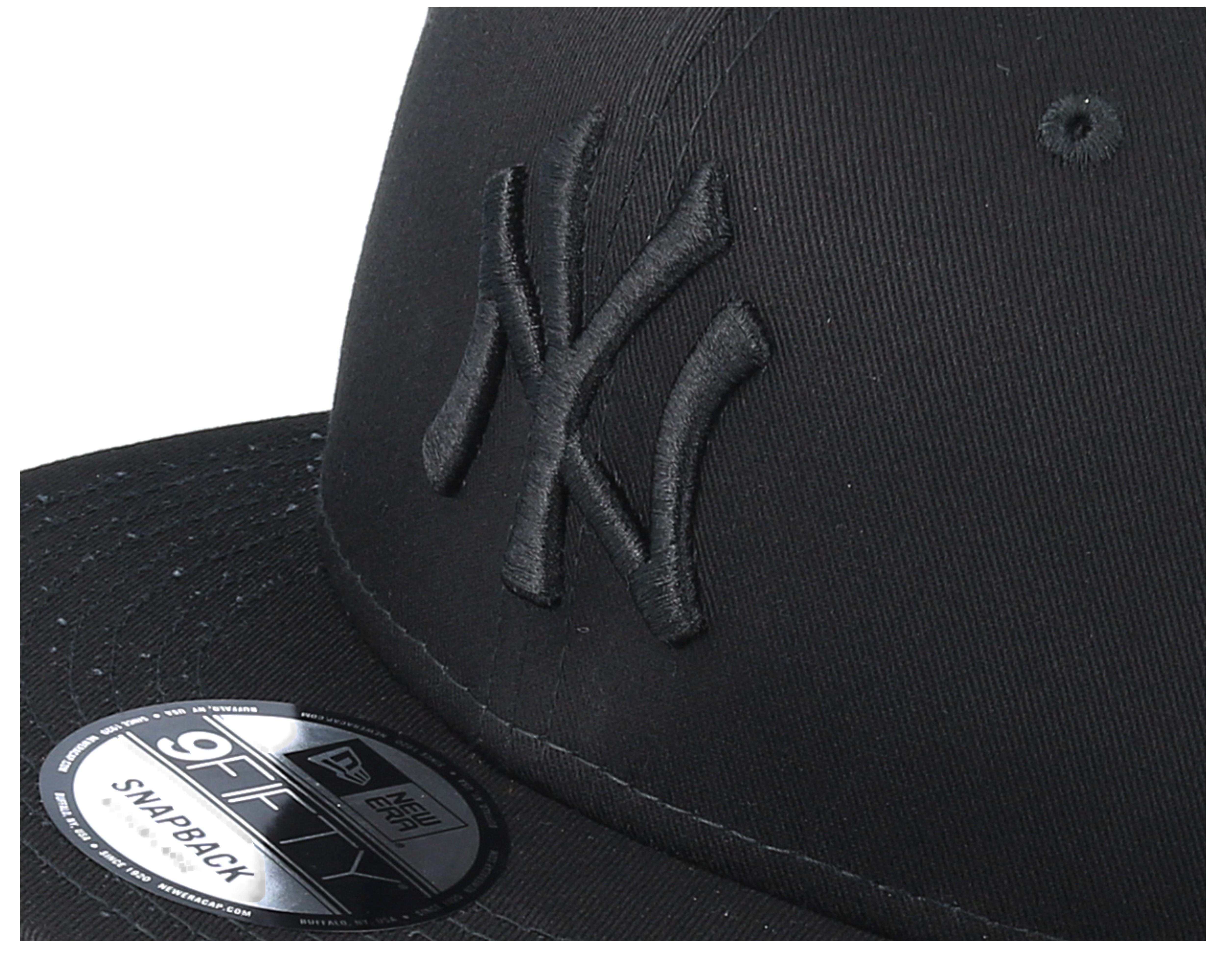 855d44b92 ... discount code for ny yankees black black 9fifty snapback new era caps  hatstore caba6 c7f91