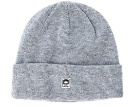 Eighty Nine Heather Grey Beanie - Obey