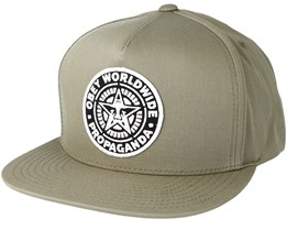 Classic Patch Light Army Snapback - Obey
