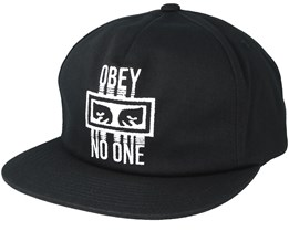 Obey No One Black Snapback - Obey