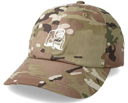 Slander 6 Panel Camo Adjustable - Obey