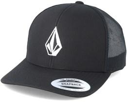 Full Stone Cheese Black Trucker - Volcom
