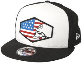 Country Black/Red Snapback - Metal Mulisha