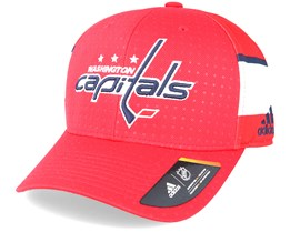 Washington Capitals Draft Structured Red Flexfit - Adidas