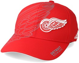 Detroit Red Wings Second Season Structured Red Flexfit - Adidas