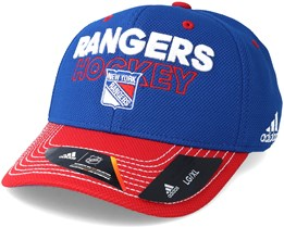 New York Rangers Locker Room Structured Blue Flexfit - Adidas