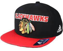 Chicago Blackhawks Dassler Brim Black Snapback - Adidas