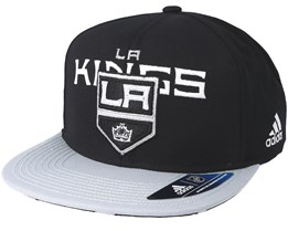Los Angeles Kings Dassler Brim Black Snapback - Adidas