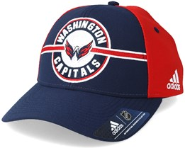 Washington Capitals Strucured Navy/Red Adjustable - Adidas