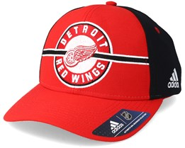 Detroit Red Wings Strucured Red/Navy Adjustable - Adidas