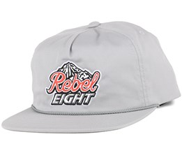 Tap The Rockies Silver Snapback - Rebel8