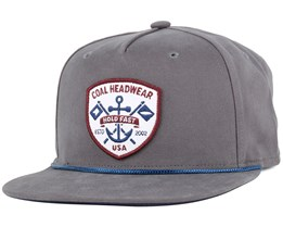 The Ebb Tide Charcoal Snapback - Coal