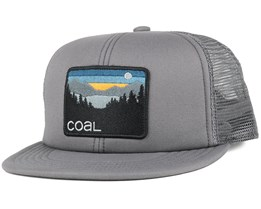 The Hauler Grey Trucker Snapback - Coal