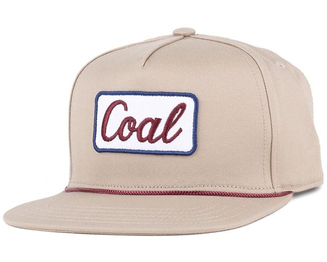 The Plamer Khaki Snapback - Coal
